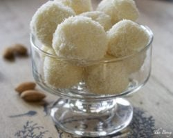 Homemade Raffaello Coconut Almond Confections