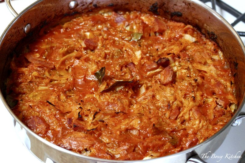 Sweet Cabbage With Pork