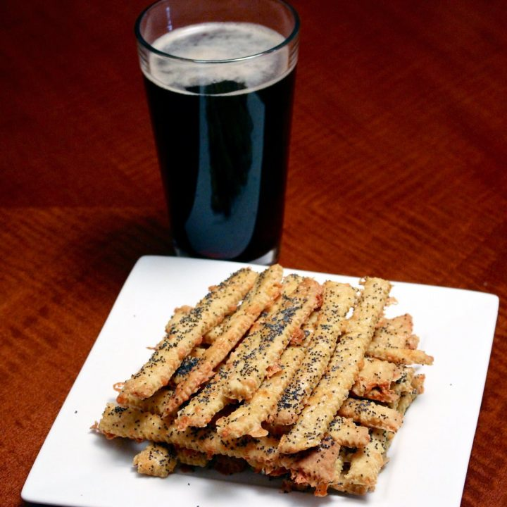 Cheddar Cheese Straws With Cumin