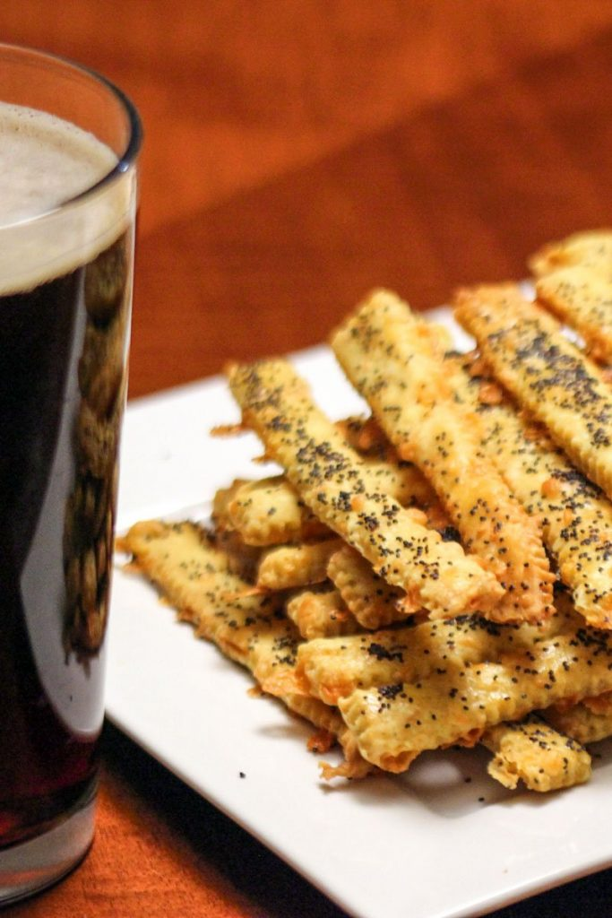 Featured picture of the cheese straws recipe