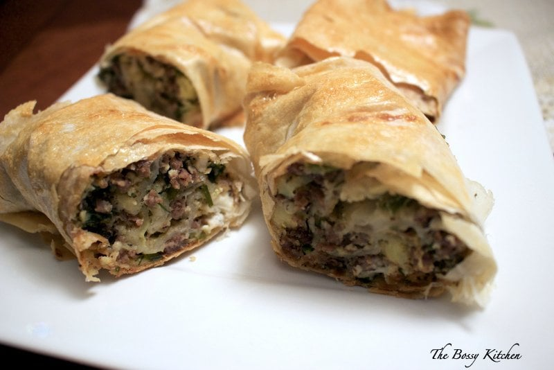 Meat Potatoes And Feta Cheese Pie4