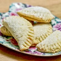 Pie Crust Mini Turnover Cookies With Jam