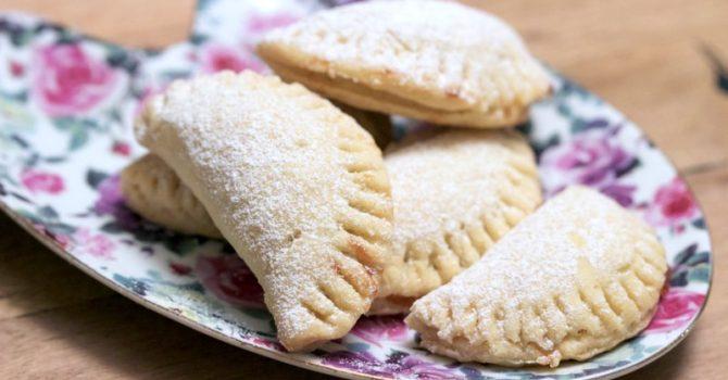 Mini Turnover Cookies With Jam