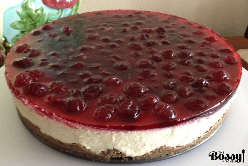 No Bake Cheesecake With Berries4