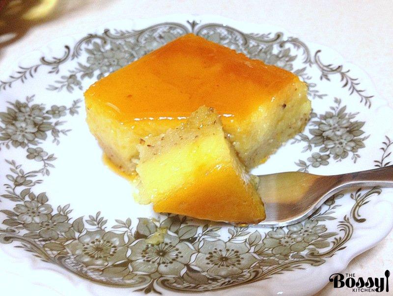 Orange-Almond Flan2