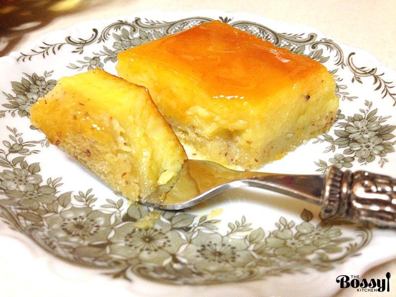 Orange-Almond Flan3