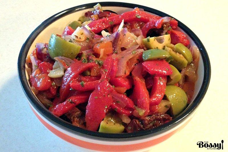 Roasted Pepper Salad6