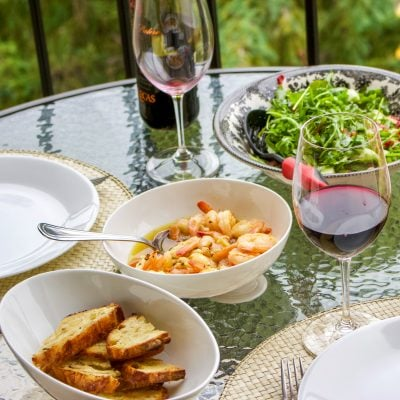 Sizzling Chili Shrimp-Spanish Recipe