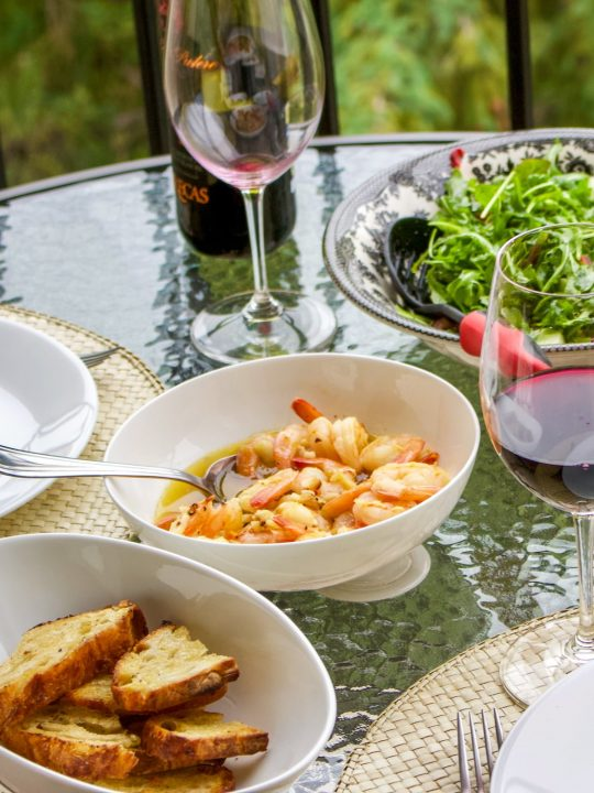 Sizzling Chili Shrimp-Spanish Recipe, or Gambas al Pil Pil(also known as Gambas al Ajillo) is a glorious dish that you will find in almost any restaurantin Spain.The dish is usually served as an appetizer, with crusty bread for dipping in the sauce.The recipe is very easy and takes no time to make.