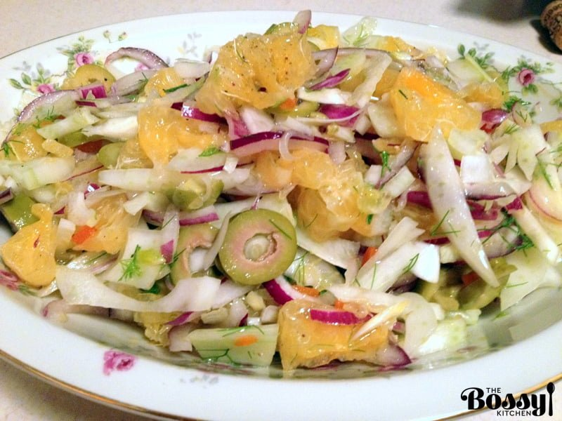 This recipe of SpanishOrange and Fennel Saladis truly anauthentic one.It is great for a tapas party, especially in the summer.The combination is refreshing, a little bit sweet, a little bit spicy, and has great crunchiness from the fennel.