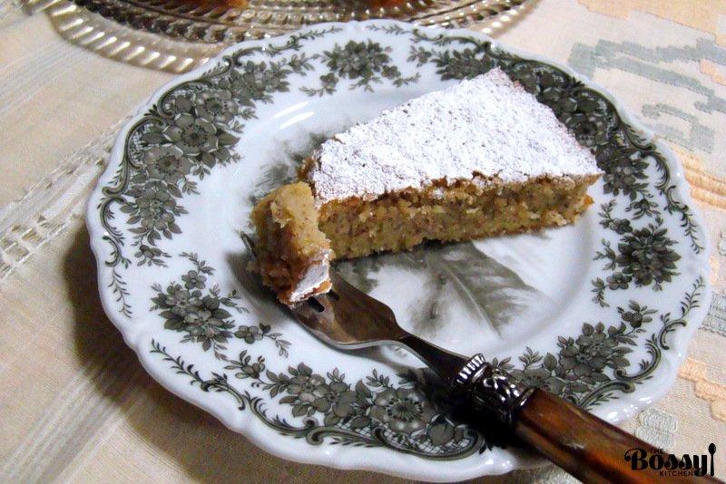 Almond Liqueur Cake Recipe