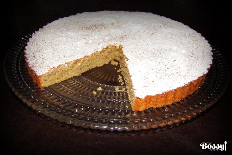 Almond Cake Recipe Tarta De Santiago The Bossy Kitchen