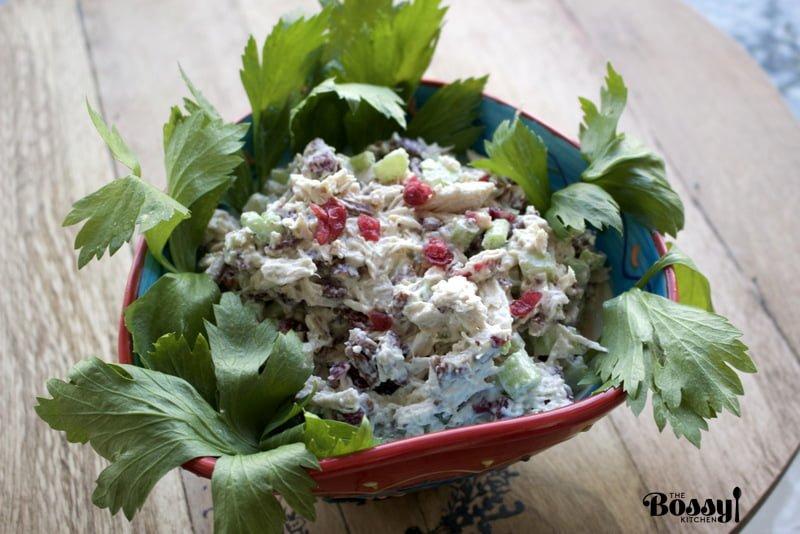 Chicken Salad With Pecans And Cranberries