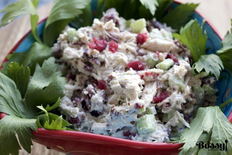 Delicious and easy recipe for a great lunch, dinner or party. Cranberries Pecans Chicken Salad is a great addition to your recipe collection.