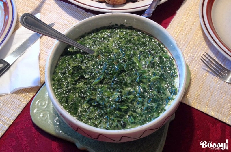 Easy Creamy Spinach2