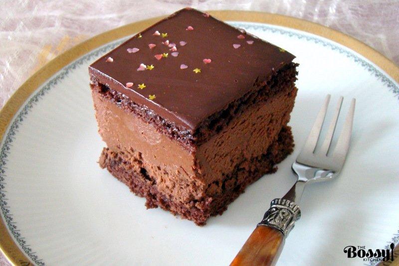 Hungarian Decadent Chocolate Cake