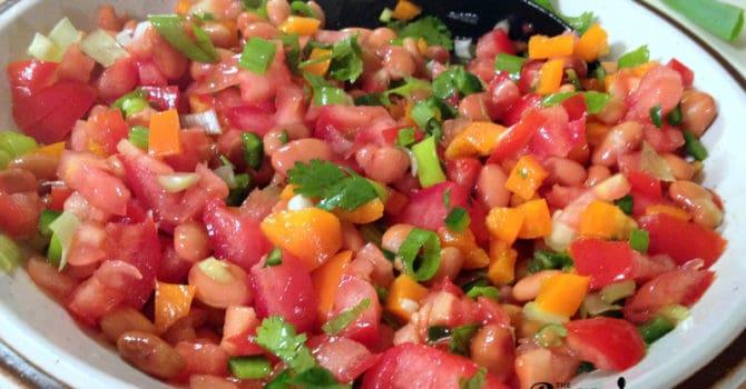 Mexican Pinto Bean Salad