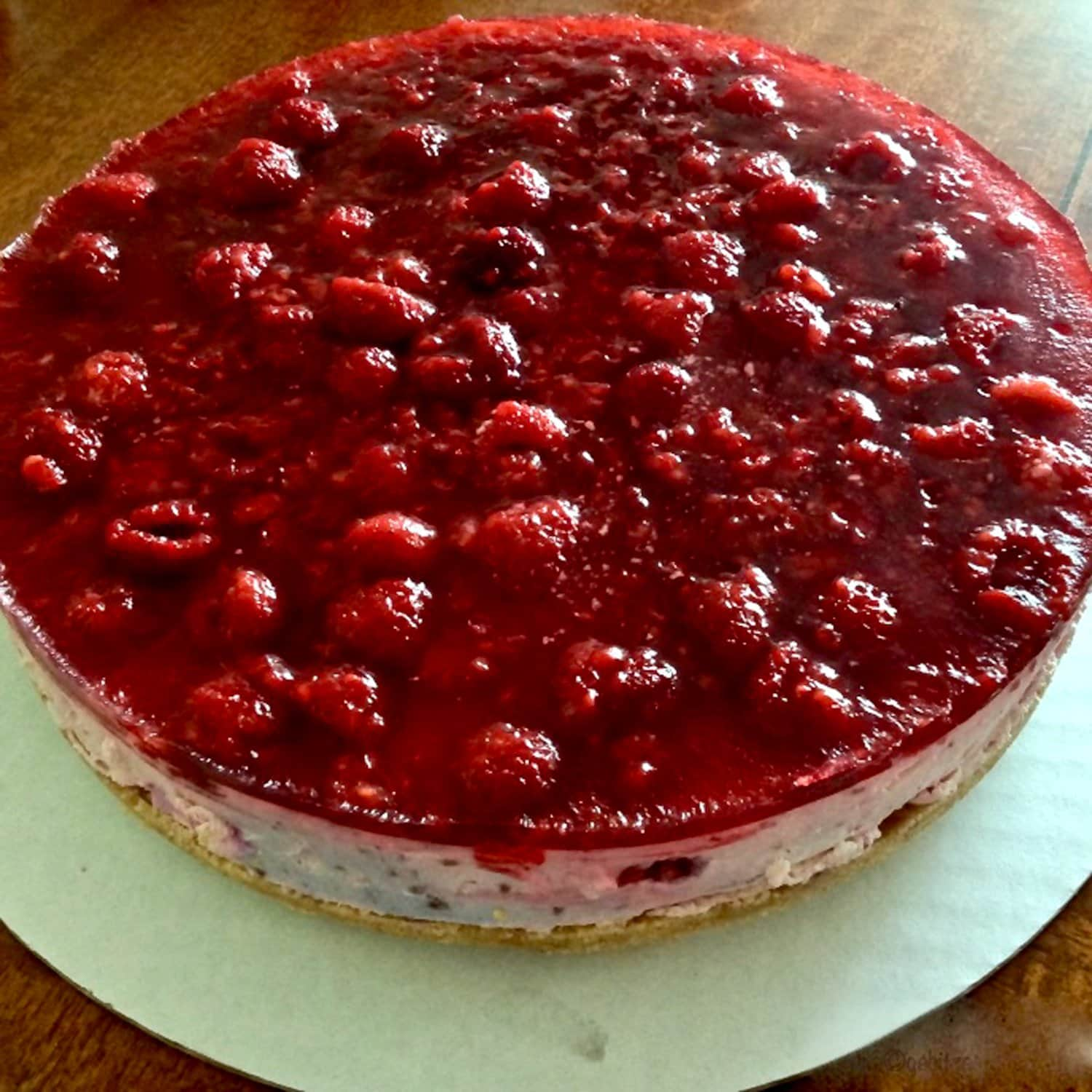 No Bake Cheesecake with Berries5