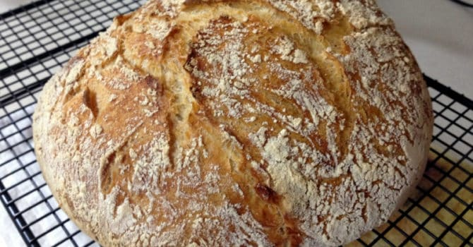 No Knead Bread-The Simple Way To Make Delicious Bread