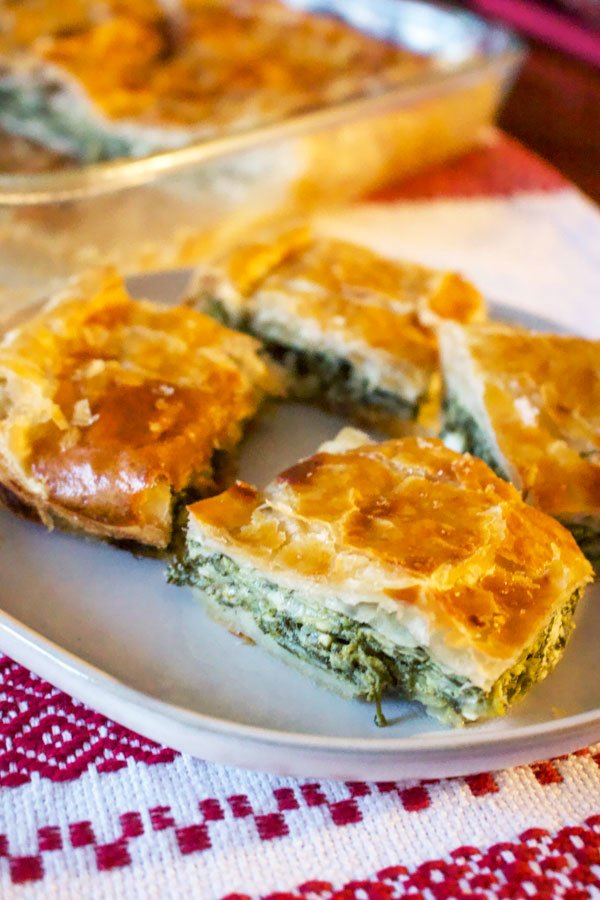 Romanian Spinach And Feta Cheese Pie22