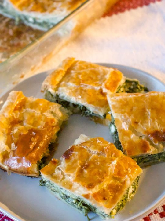 Romanian Spinach And Feta Cheese Pie33