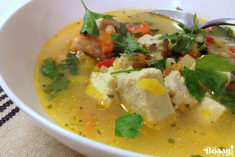 Sour fish soup romanian style the bossy kitchen for How to make fish soup