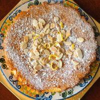 Spanish Almond Cake Recipe- Tarta De Santiago