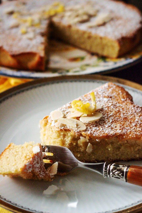 Spanish Almond Cake Recipe Tarta de Santiago44 1