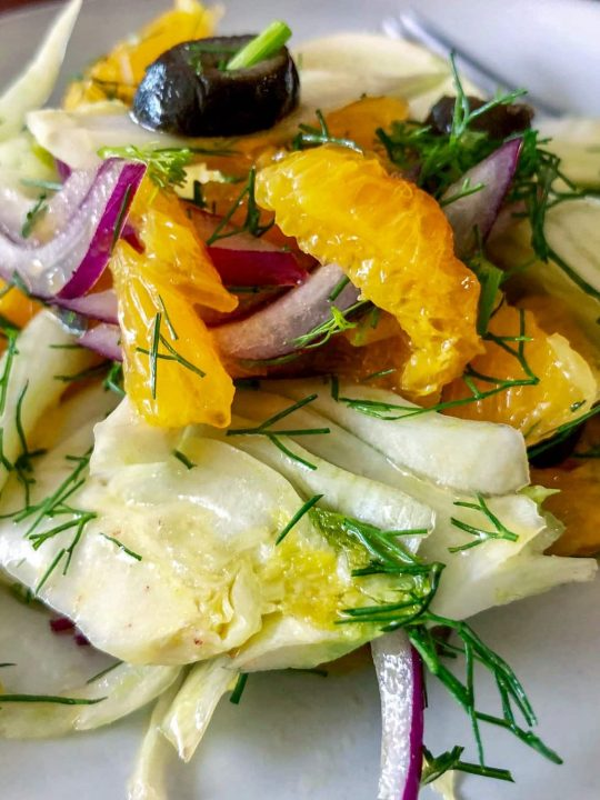 Spanish Orange And Fennel Salad 1