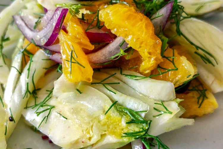 Spanish Orange And Fennel Salad