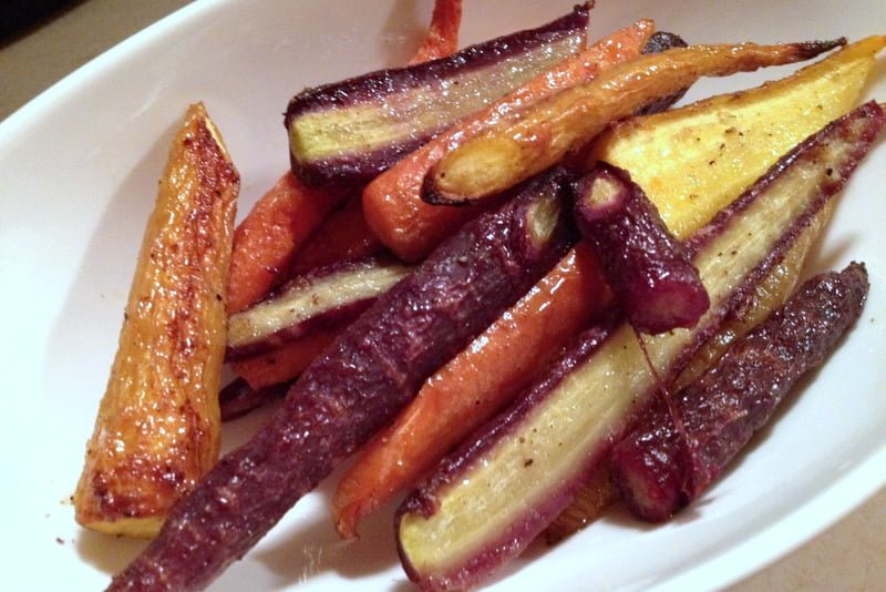 Easy Roasted Carrots7