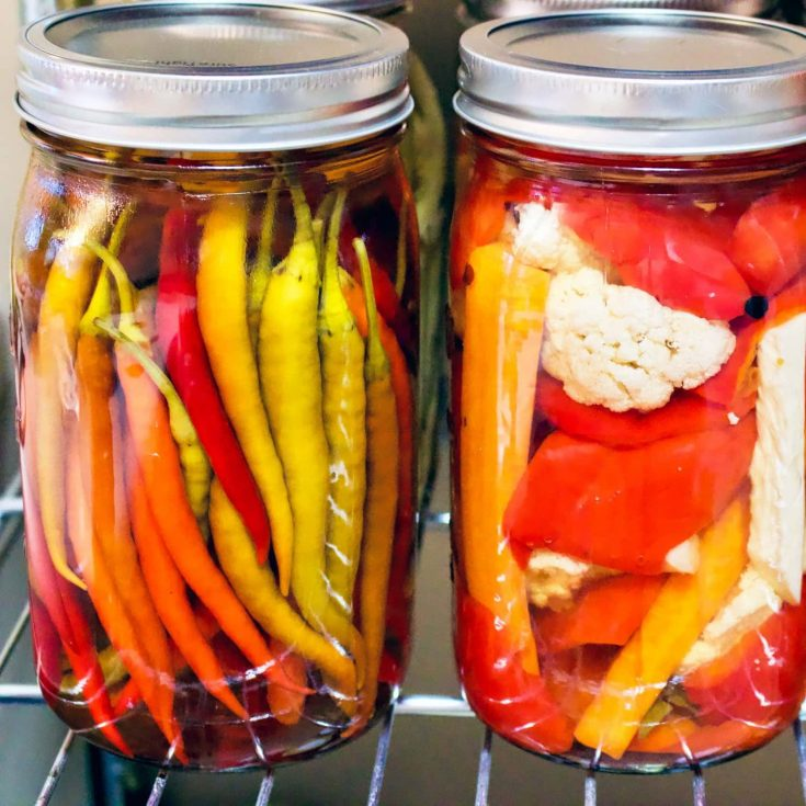 How To Preserve Hot Peppers In Vinegar- Easy Recipe