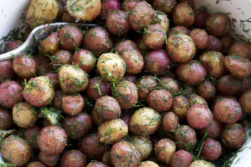 New Potatoes With Dill And Butter