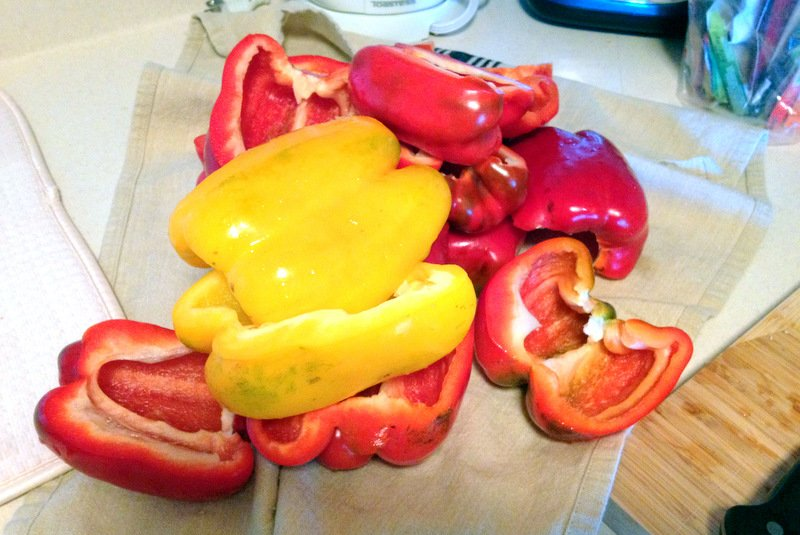 This recipe of Red Peppers in Mustard Sauce is a great way of preserving peppers for the colder season. Savory and delicious, the peppers can be served with roasted meats, like pork or beef.