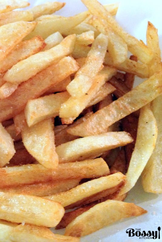 How To Make Real Potato French Fries- Grandma style