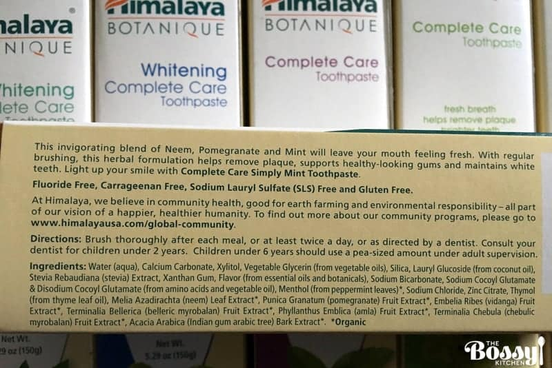 Himalaya Botanique Complete Care Toothpaste Review- #MomsMeet