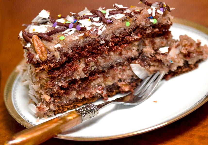 Best homemadeGerman's Chocolate Cake that you will fall in love with. Classic recipes made from scratch with more flavor and less sugar.