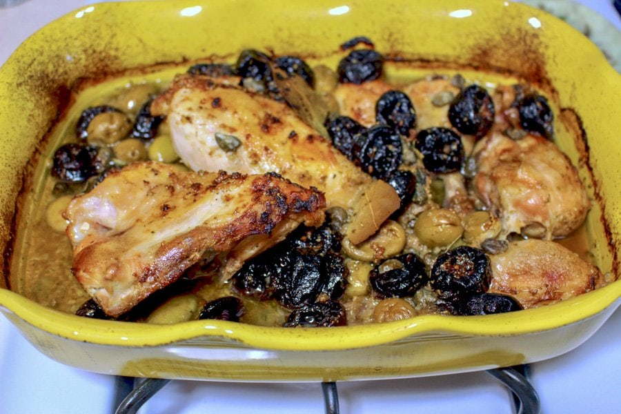 Chicken Marbella From The Silver Palate Cookbook- a delicious, classic American recipe that is great for entertaining. Very elegant!