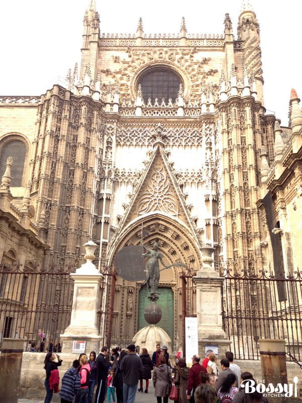 Sevilla Spain Cathedral