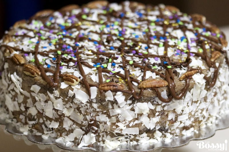 Decadent German Chocolate Cake