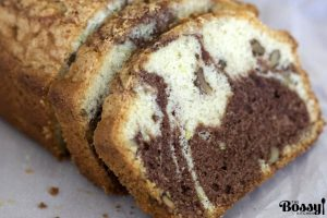Easy marbled pound cake1