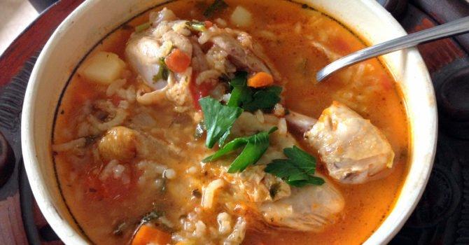 Homemade Chicken Soup Mexican Style Caldo De Pollo2