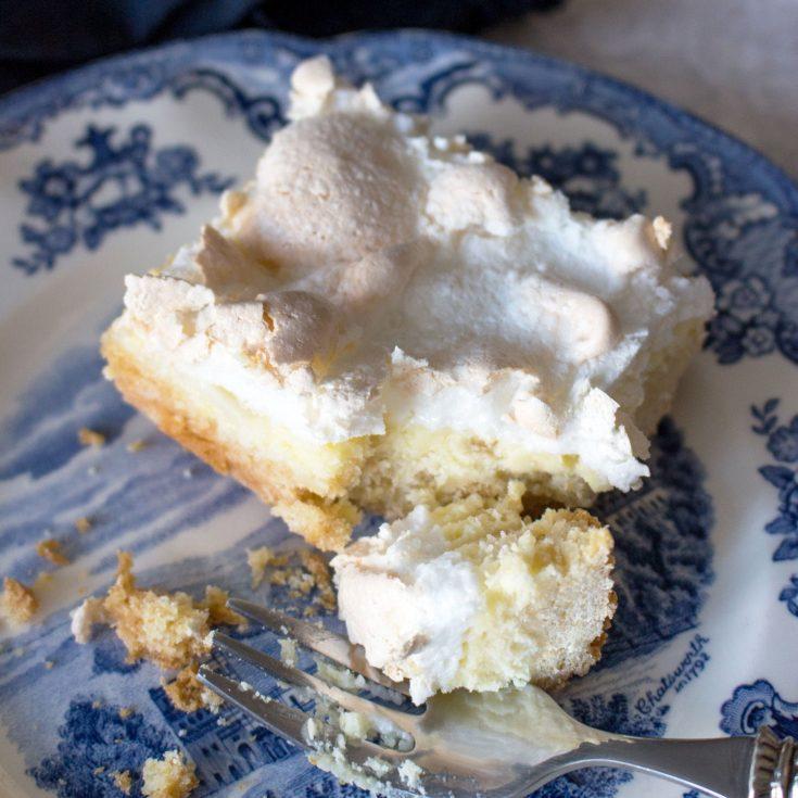 Meringue Farmer Cheese Cake