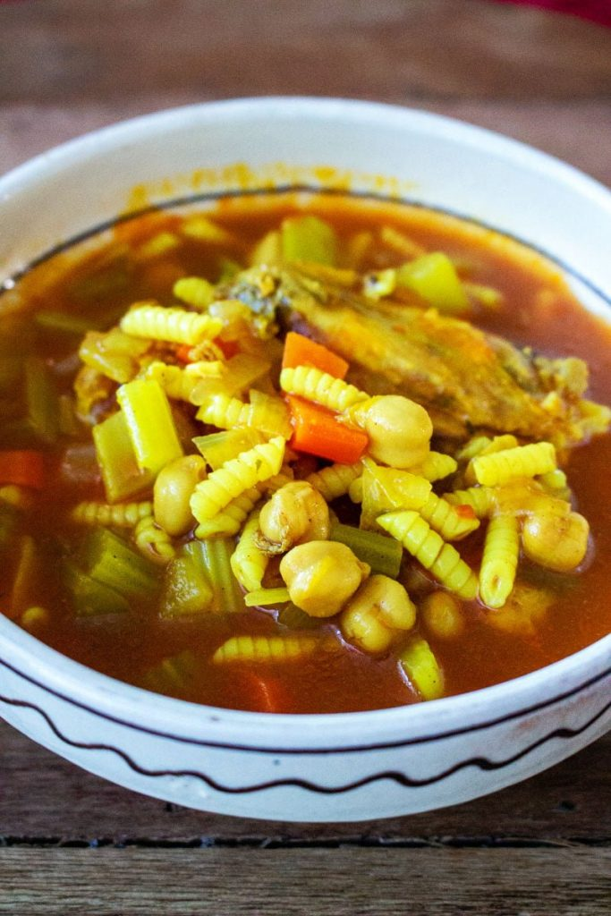 Moroccan Chicken Soup With Chickpeas0 1