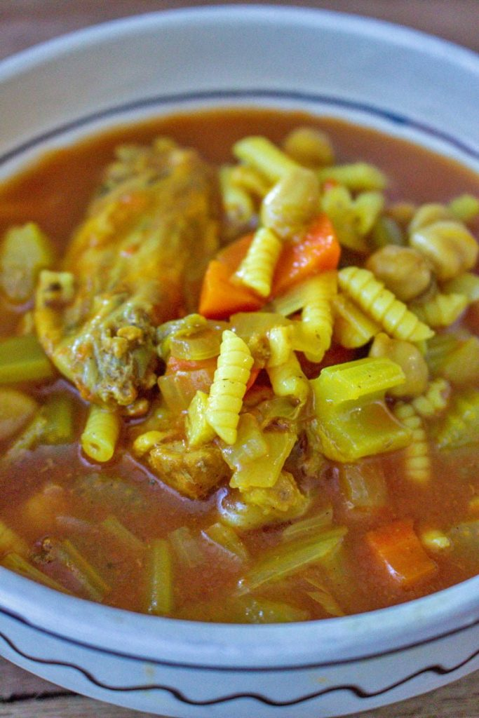 Moroccan Chicken Soup With Chickpeas11 1