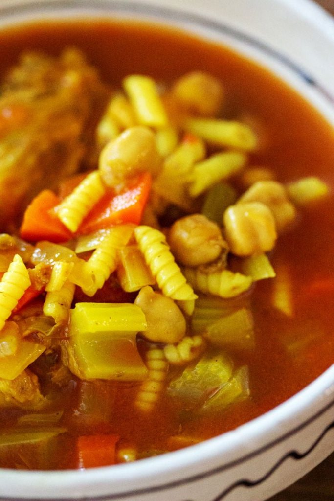 Moroccan Chicken Soup With Chickpeas22 1