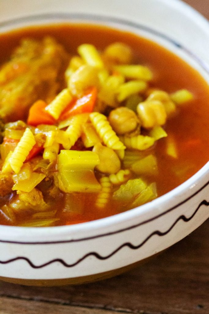 Moroccan Chicken Soup With Chickpeas33 1