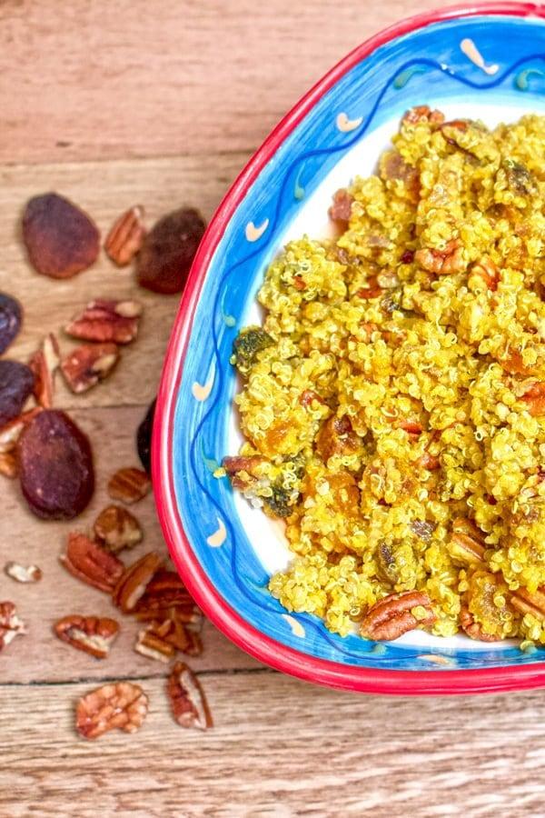 Apricots Pecans Quinoa Salad 1