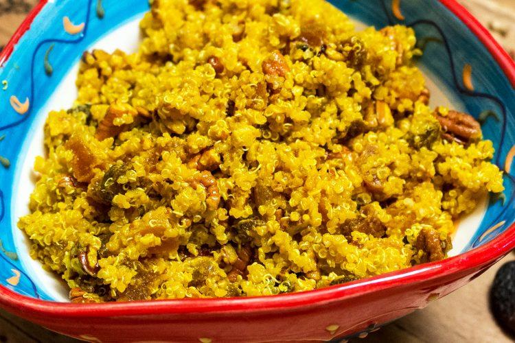 Apricots Pecans Quinoa Salad