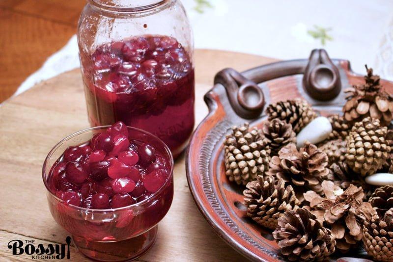 Baked Brandied Cranberries Sauce